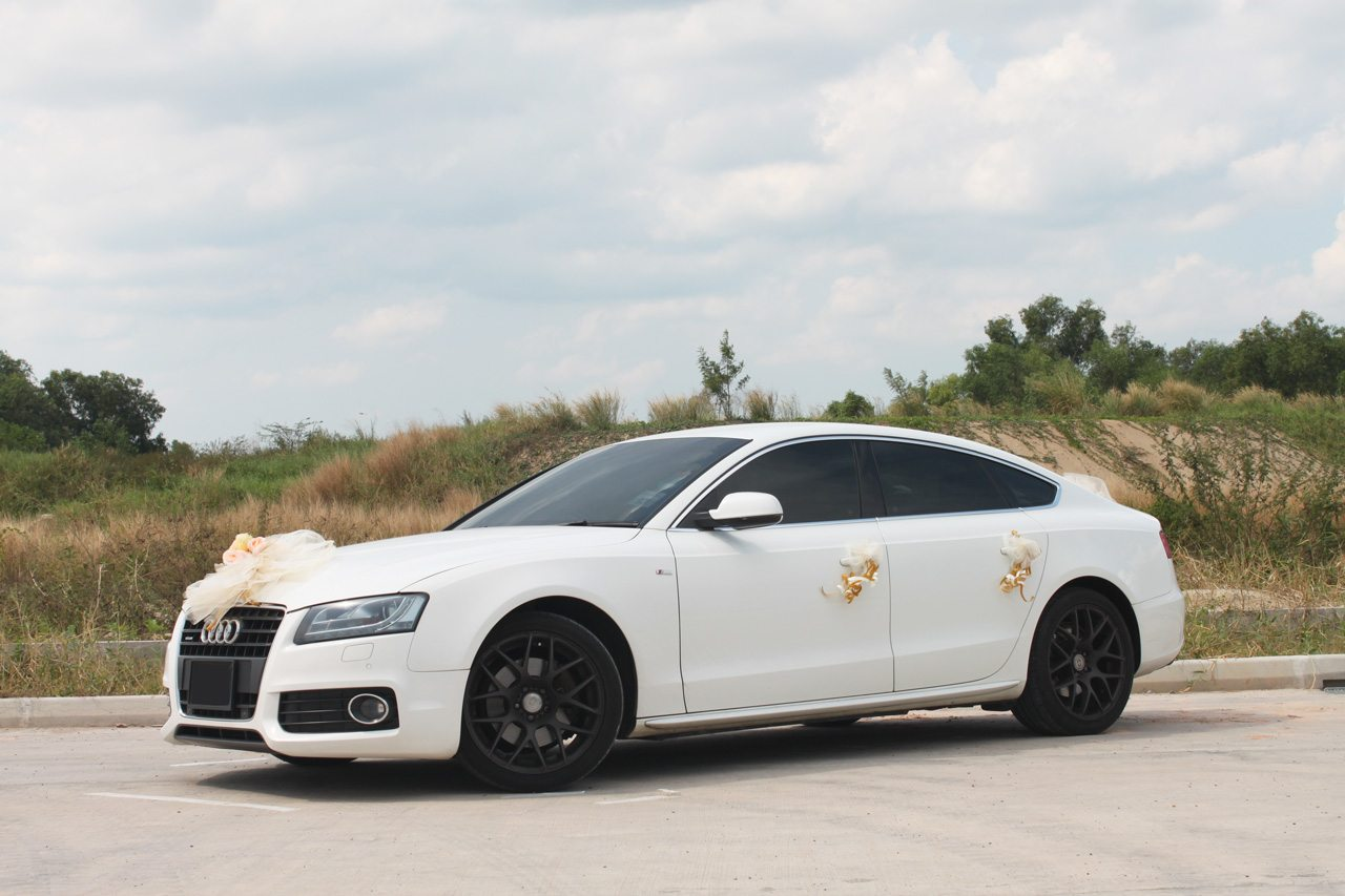 White Audi A5 Perfect Wedding Cars Singapore