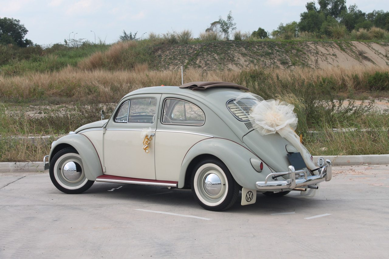 Vintage 2 Tone 1962 Vw Beetle Perfect Wedding Cars Singapore